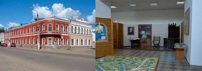 Краеведческий музей в Вышнем Волочке