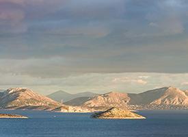 Панорамный вид о. Саламина