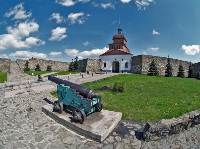 Кузнецкая крепость интересное место на карте Кемеровской области