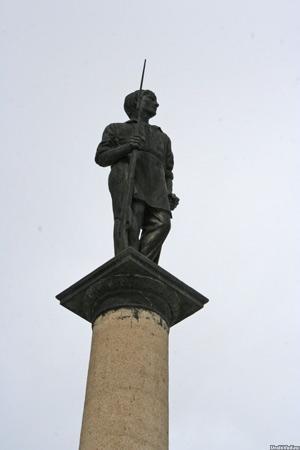 Памятник борцам за революцию, Касли