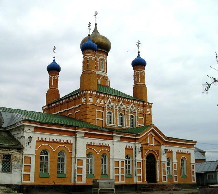 Церковь Дмитрия Слунского, Оренбург
