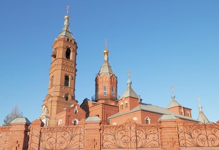 Церковь в Орске