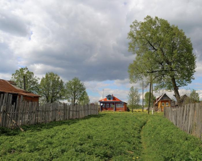 Село в Камешковском районе, Конец мая