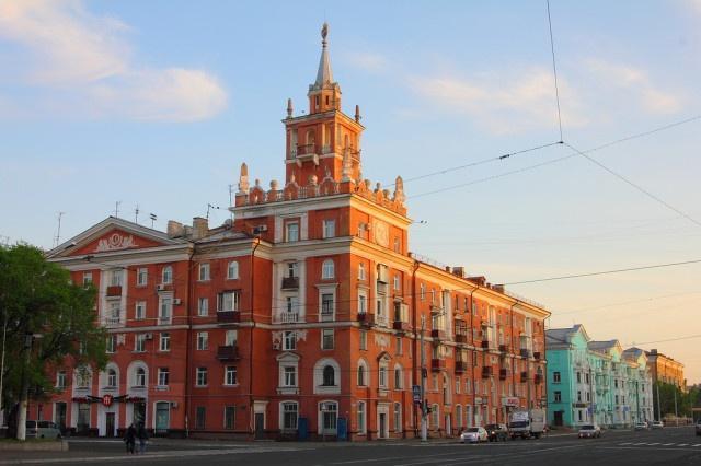 Дом со шпилем Комсомольск-на-Амуре