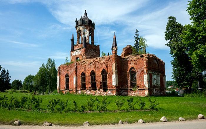 Троицкая церковь в Андрианово