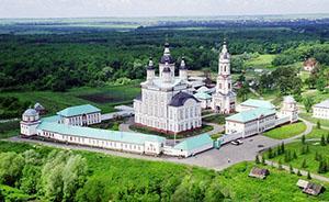 Троице-Сканов женский монастырь.