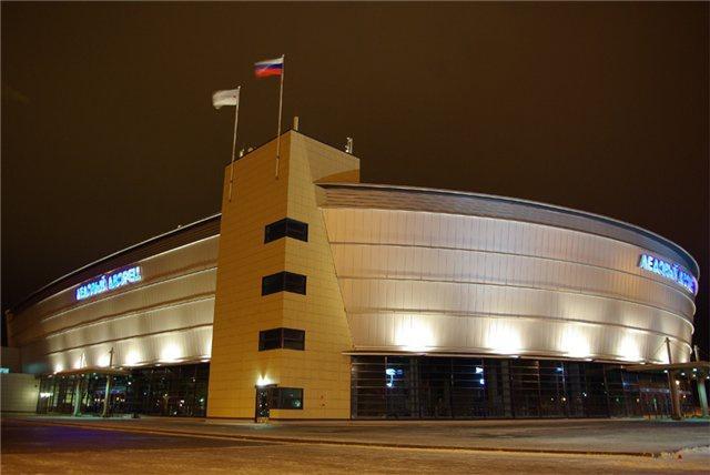 Ледовый дворец Череповца
