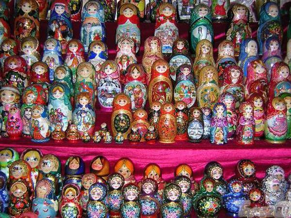 москва фото матрешки сувениры