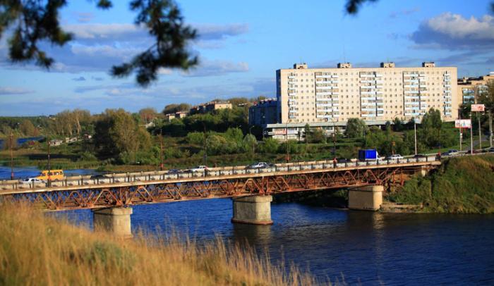Байновский мост через Исеть