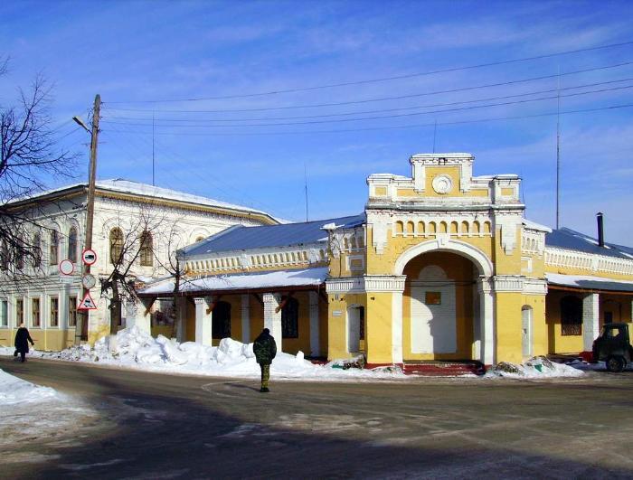 Город Ветлуга, марийское городище Юр