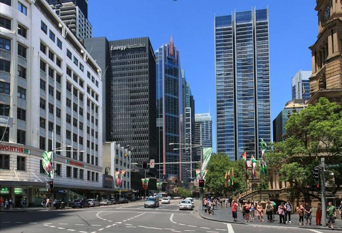 Дома и здания Сиднея