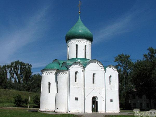 фото золотое кольцо переславль-залесский спасо преображенский собор александр невский