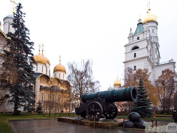 москва фото царь-пушка успенский собор московский кремль