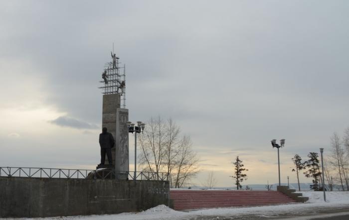 памятник Почётному гражданину Братска Ивану Ивановичу Наймушину, Братск