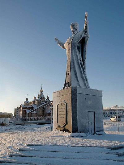 Памятник святителю Николаю Чудотворцу, Анадырь