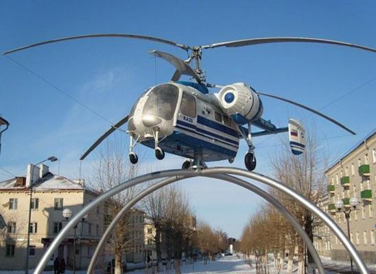 Памятник «Вертолет КА-26»