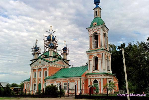 Церковь царевича Димитрия на поле, достопримечательности Углича