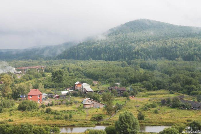 Вид на гору Орлову