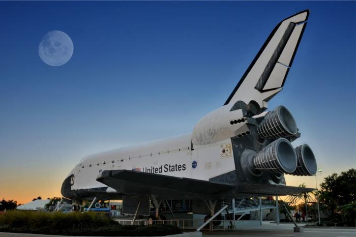 Фото одной из самых популярных достопримечательностей Флориды - Космодром НАСА