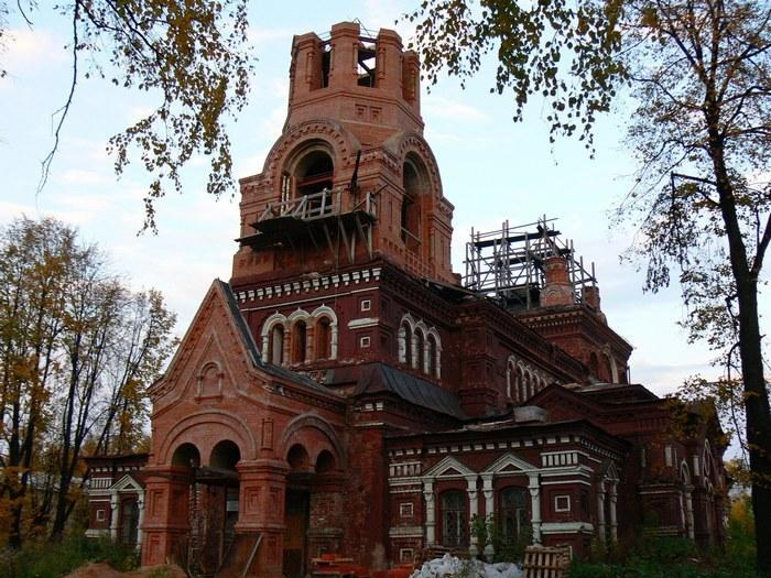 Никольская церковь. г.Слободской