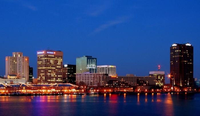 Норфолк крупнейший город Вирджинии