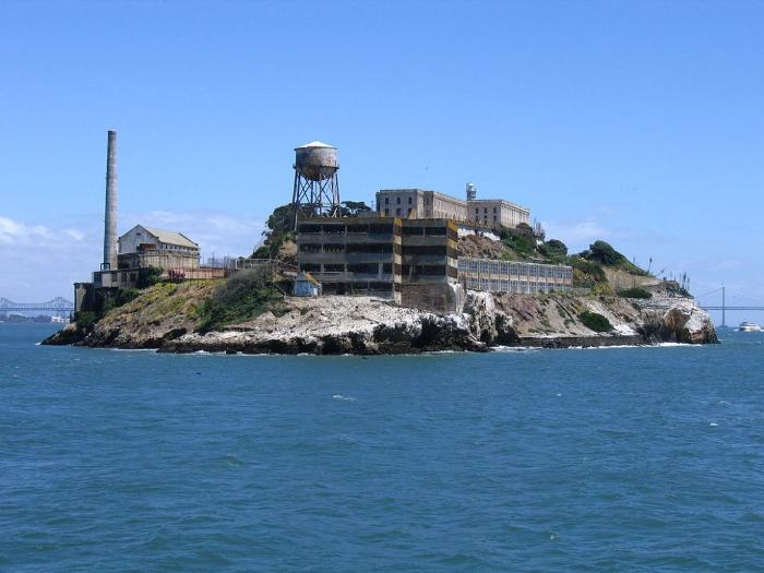 Тюрма Алькатрас в Сан-Франциско