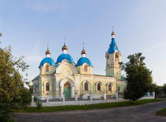 Храм Вознесения Господня в Рыльске