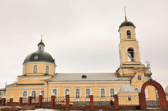 Никольский собор Вятские поляны Кировская область