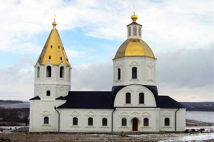 Церковь Богоявления, 1769 г., с. Терновое