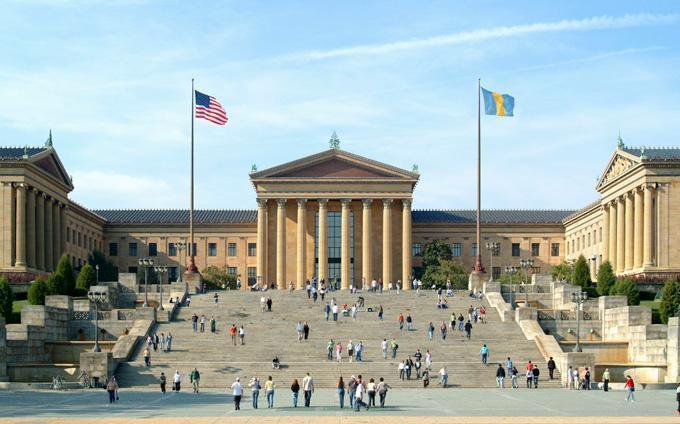 Музей Искусств в Филадельфии