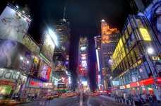 Ночная прогулка по Таймс Сквер