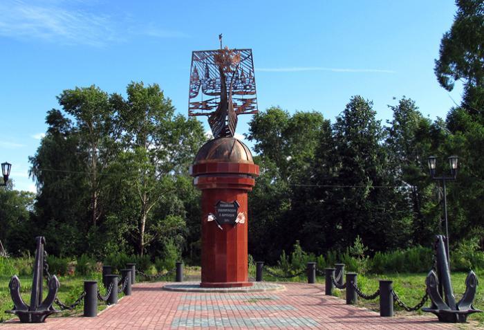 Памятник русским мореходам и землепроходцам