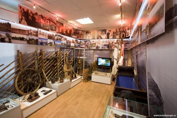 Музей Кондопожского края внутри