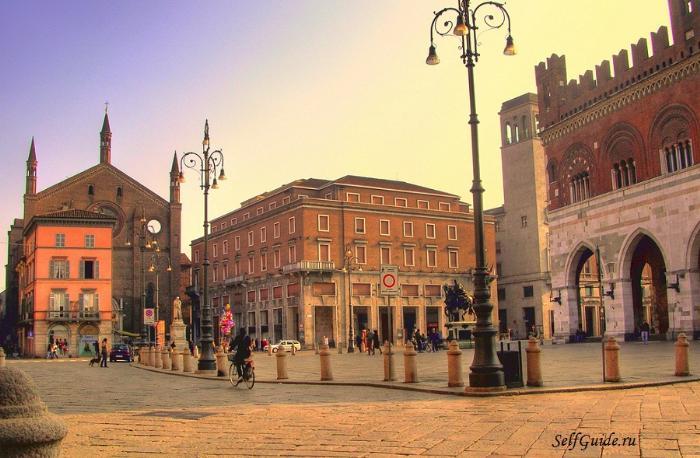 Пьяченца (Piacenza), Ломбардия, Италия -достопримечательности Пьяченцы, путеводитель по городу. Что посмотреть в окрестностях Милана, путеводитель по Италии