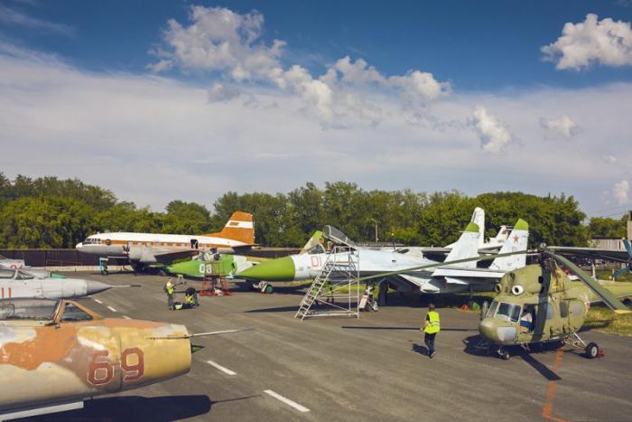 Курганский авиационный музей