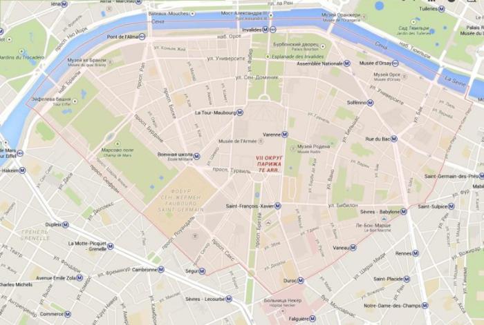 7 округ Парижа– Пале Бурбон