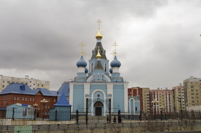Церковь иконы Божьей Матери «Всех скорбящих Радость», Норильск