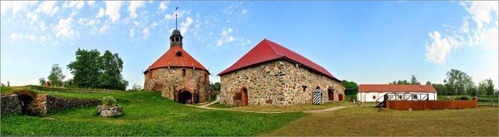 Крепость Корела вид