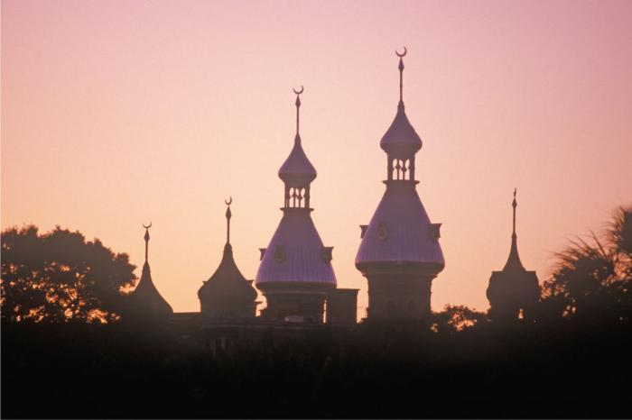 Фото одного из учебных заведений в Тампе в США