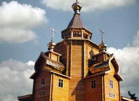 Храм Святого Георгия в районе Ореокастро (Салоники)