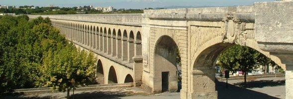 Акведук Сен-Клемен, Монпелье - достопримечательности Монпелье, путеводитель по городу