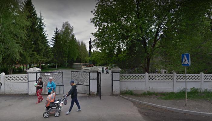 Чебаркульский парк Победы
