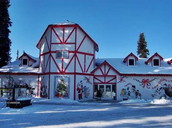 Резиденция Санта-Клауса на Аляске фото