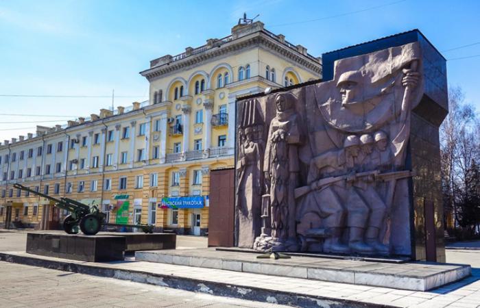 Мемориал павшим героям в годы Великой Отечественной войны