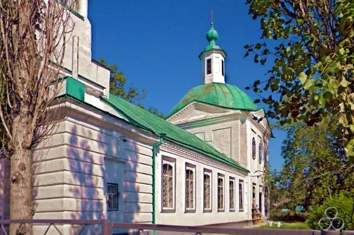 Церковь св.Николая, 1794 г., с. Землянск