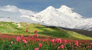 Зима на Эльбрусе в КБР