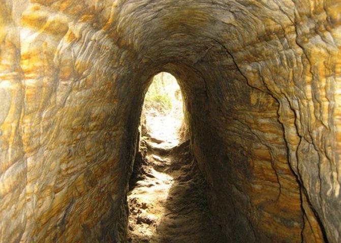 Гремячевские карстовые пещеры