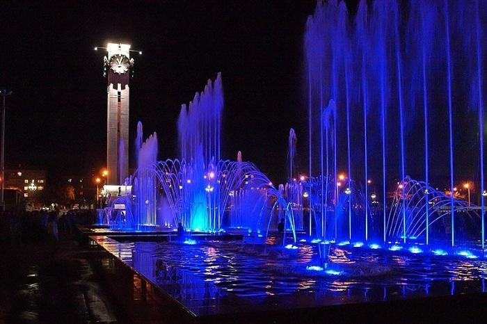 Светомузыкальный фонтан, Магнитогорск