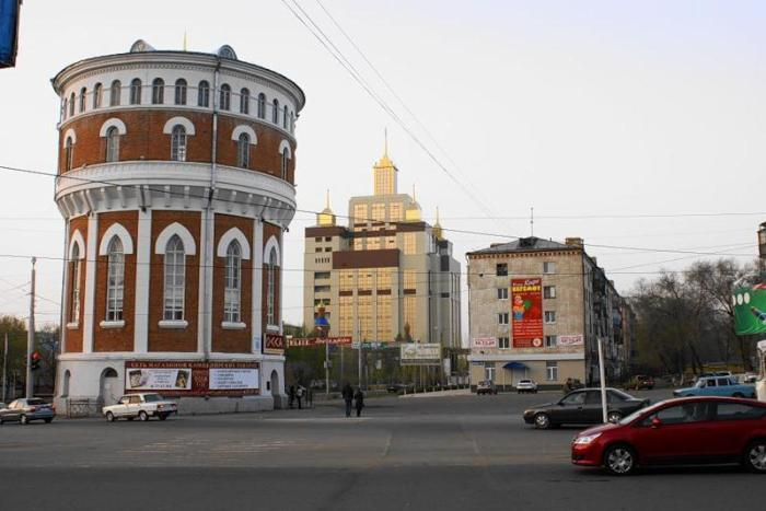 Водонапорная башня, Оренбург