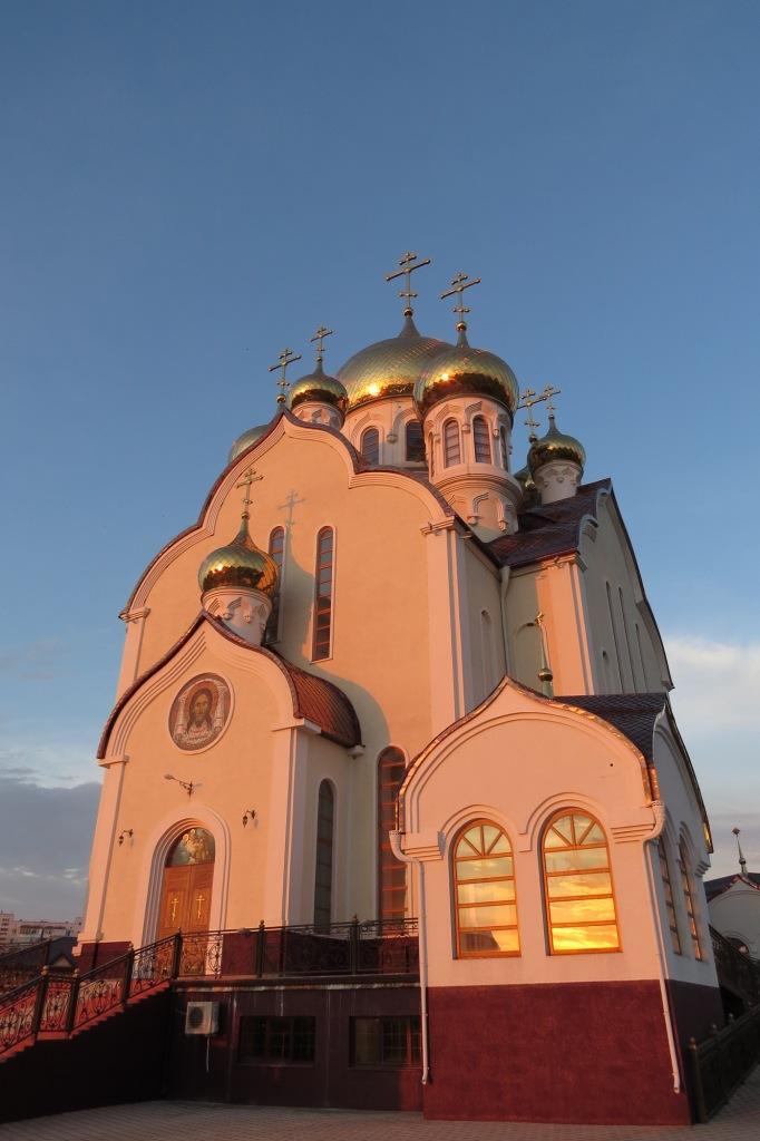 Волгодонск, новый город, собор Рождества Христова